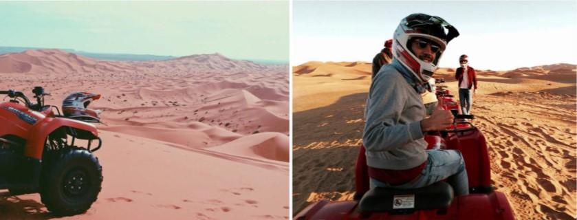 Aventuras de lujo en el desierto de Merzouga de Marruecos en el Sahara